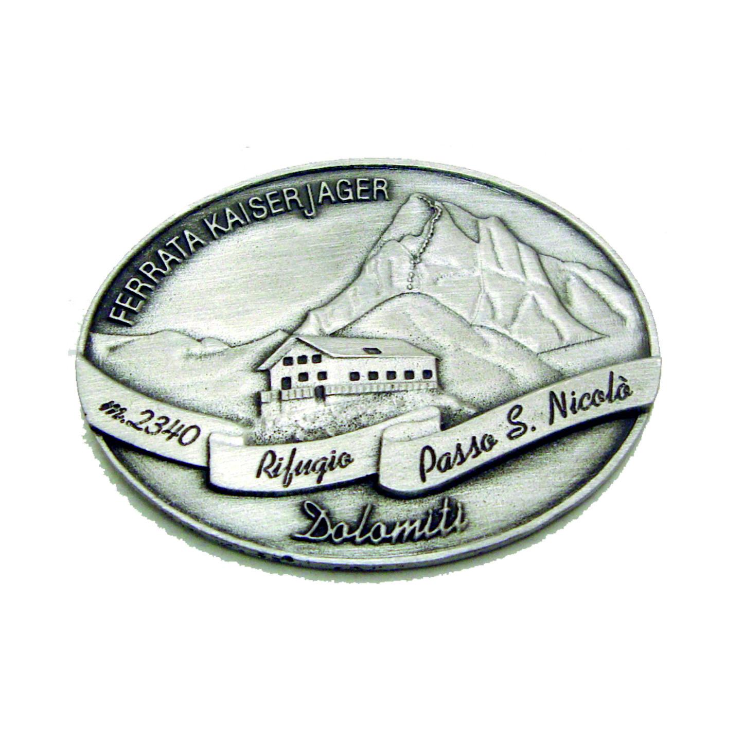 Distintivo per bastone Rifugio Passo S. Nicolò