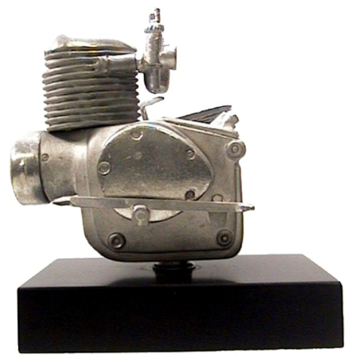 Miniatura in peltro motore Capriolo